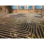 põrandakütte toru paigaldus